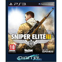 Sniper Elite 3 Ps3 Psn Envio Digital Imediato