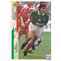 1994 Upper Deck World Cup Usa Juan Hernandez Mexico