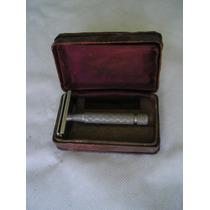 Maquina De Afeitar Antigua Gillette Inglesa Con Estuche
