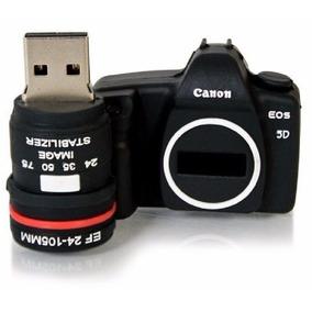 Pen Drive Camera Maquina Fotográfica Personagens