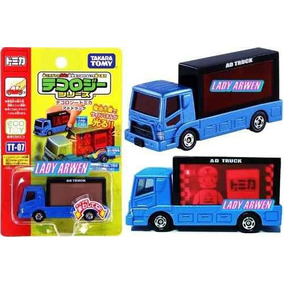 Tomica Tecology Ad Truck Camion Metalico 1/58 Luz Led