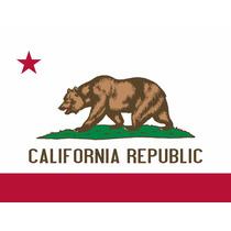 Bandeira Califórnia Republic Hollister Cali - Pronta Entrega