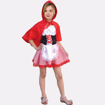 Fantasia Infantil Chapeuzinho Vermelho - Pronta Entrega