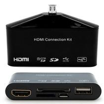 Adaptador Mhl Otg Hdmi Para Galaxy S3, S4, S5 Tab 3 Note 2
