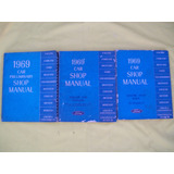 Originales Ford Motor Company 3 Manuales De Taller 1969