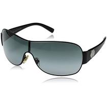 Gafas Lentes D Sol Original Unisex Versace Ve2101 36mm Negro