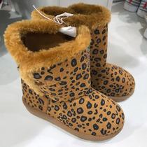 Botas Botines Zapatos Para Niñas Animal Print Algodon Oferta