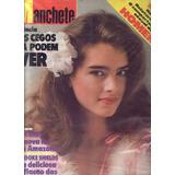 Manchete 1981.brook Shields.rivelino.nifetas.moda.tucurui.