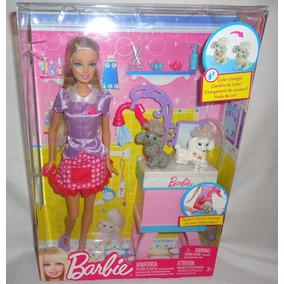 Juguetibox: Barbie Quiero Ser Estilista De Mascotas
