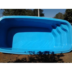 Piscina de fibra no mercado livre brasil for Ver piscinas grandes