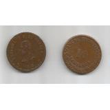 Moneda De Oaxaca De 10 Centavos De Cobre