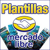 Plantillas Mercadolibre Editable Diseño Original Paga El 50%