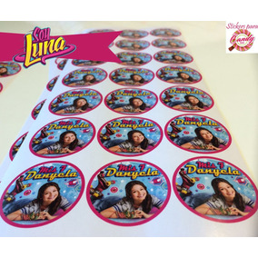 154 Stickers Candy Bar Personalizados Autoadhesivos Soy Luna
