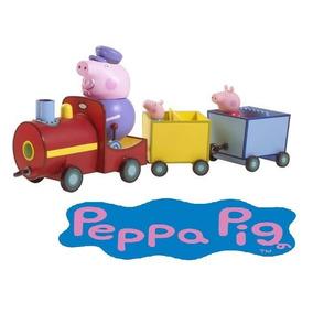 Peppa Pig Tren Del Abuelo Pig Int 05034sp La Cerdita
