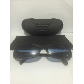 Empório Armani, Óculos De Sol Unissex - Original Lente Azul