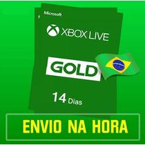 Xbox Live Gold Trial Brasil Br 14 Dias 2 Semanas Assinatura