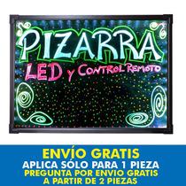Pizarron Led Rgb Anuncio Luminoso Marcadores Neon,