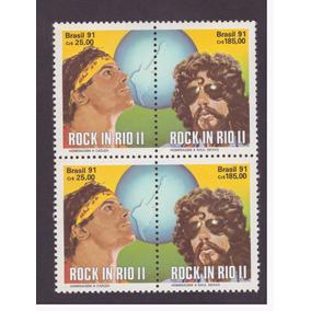 C-1719 C-1720 1991 Quadra Raul Seixas Cazuza Rock In Rio