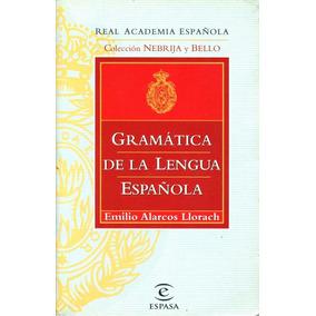 Alarcos Gramática De La Lengua Española Alarcos (envíos)