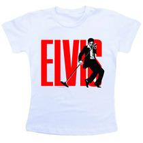 Camiseta Infantil Elvis Presley Co531