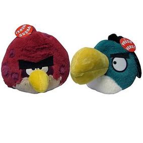 Angry Birds Felpa De 5 Pulgadas De Bro Grande Y Tucán Surti