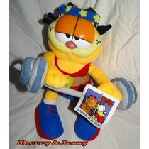 Garfield De Pelúcia - Pronta Entrega 30 Cm