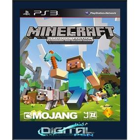 Minecraft Ps3 Psn Envio Imediato