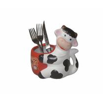 Vaca Porta Talher - Enfeite Cozinha #1576#