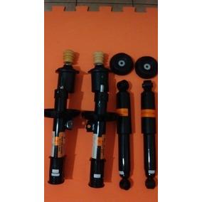 4 Amortecedor + 4 Kits Batentes Vectra 2.0 E 2.4 2006 10 Pçs