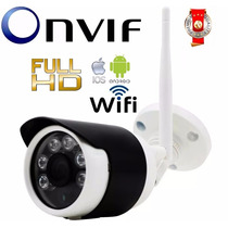 Camera Ip Full Hd 960p Onvif Externa Ip66 Ircut 50m + Wifi