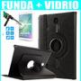 Case Estuche 360 Galaxy Tab A 8.0 T350 T350 + Vidrio Templad