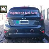Ford Fiesta Kd Kit Sensores De Estacionamiento Colocado