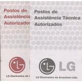 158 - 2 Livretes Assistência Técnica Lg R$ 19,00