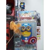 Minions Capitán América Con Sonido