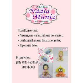 Atelie Nádia Muniz Artesanato Em Biscuit. Pascoa.