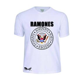Camisas Camisetas Ramones Banda T-shirt Rock Conjunto Pop Fé