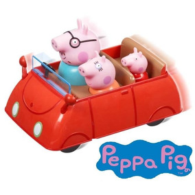 Peppa Pig Auto Familiar Con Movimiento Int 05130 La Cerdita
