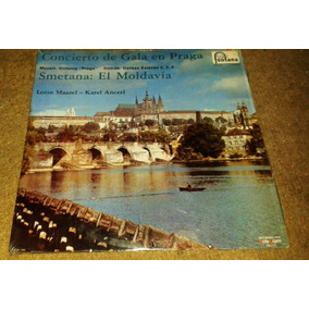 Disco Acetato De Concierto De Gala En Praga. Smetana:el Mold
