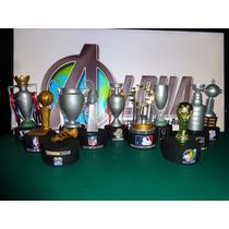 Mini Trofeos Replicas, Champions, Euro, Nfl, Nba,nhl,mundial