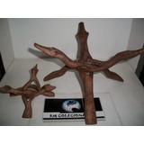 Artesanato Decoração Em Madeira Tailandia Rm Colecionaveis