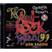 Cd Rio Art Rock Festival 97 - ( Violeta De Outono ) - 2 Cds
