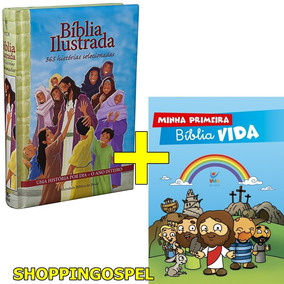 Bíblia Infantil 365 Histórias + Minha Primeira Bíblia Vida
