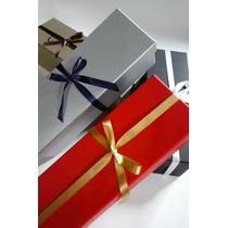 10 Caixas De Presente Em Papelão - Varias Cores