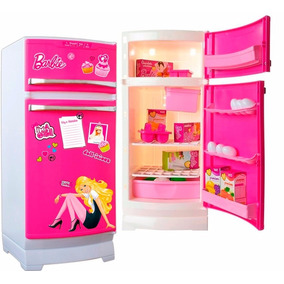 Barbie Tu Primer Heladera Glam Con Accesorios