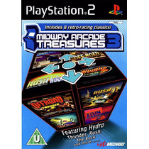 Jogo Ps2 Midway Arcade Treasures 3 Original