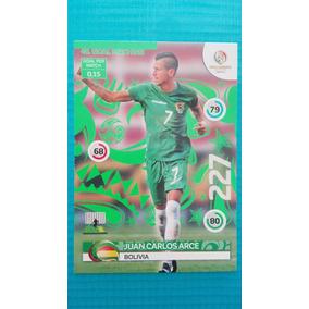 1 Adrenalyn Copa America 2016 Juan Carlos Arce Card #46