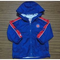 Campera Rompeviento Mlb Chicago Cubs Talle Kids