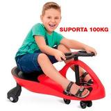 Carrinho Gira Gira Car Ecológico Rolimã Vermelho Crianças