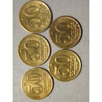 Moeda De 50 Centavos De 1954 Presidente Dutra