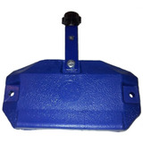 Cencerro Jd Azul Grande Plastico Con Agarre